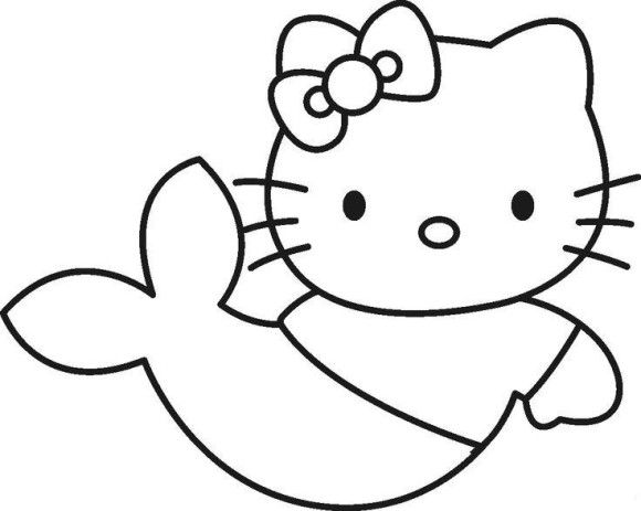 pi7K55ryTjpg (580×463) drawing Pinterest Svg file and Filing - new coloring pages with hello kitty