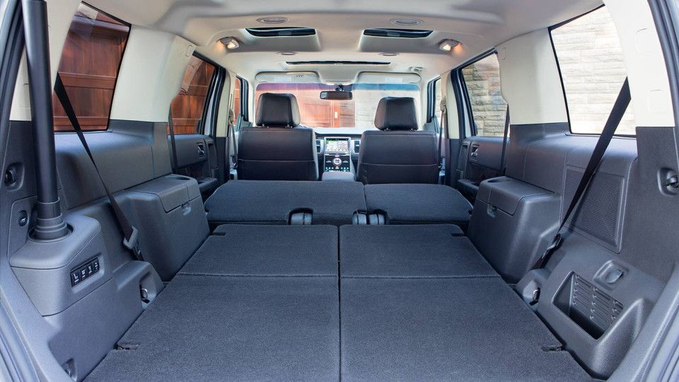 Ford Flex Rear Seats Fold Down
