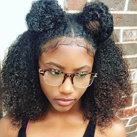 Hairstyles For Natural Hair Simple Chycvrter✨ …  Hair…