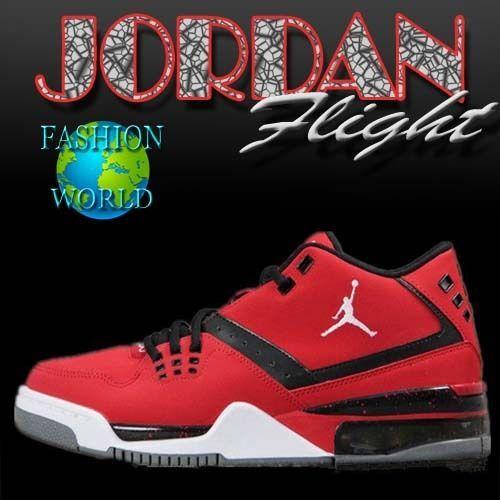 NIKE JORDAN FLIGHT 23 Mens Basketball Shoes Red Black 317820 601 SIZES 11.5 #Nike #BasketballShoes