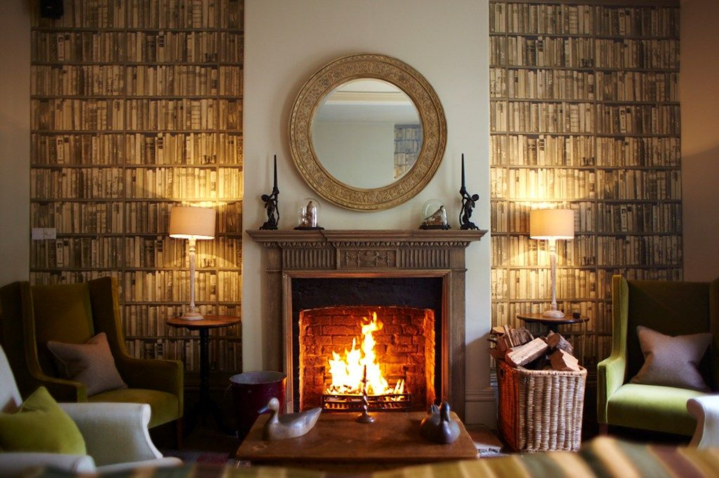 The Pig In The Woods Httpwwwthepighotelcom Living Rooms - Country house hotel interiors