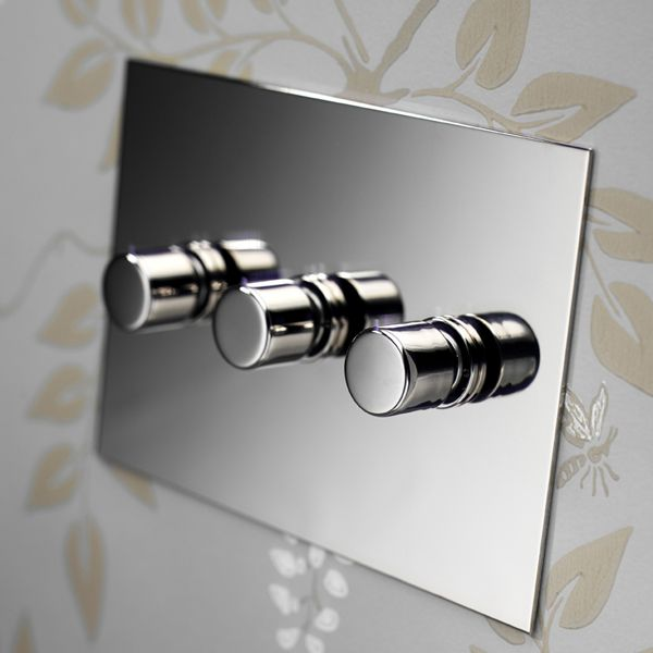 Forbes Lomax The Nickel Silver Range Modern Light Switches Silver Light Switches Light Switches And Sockets