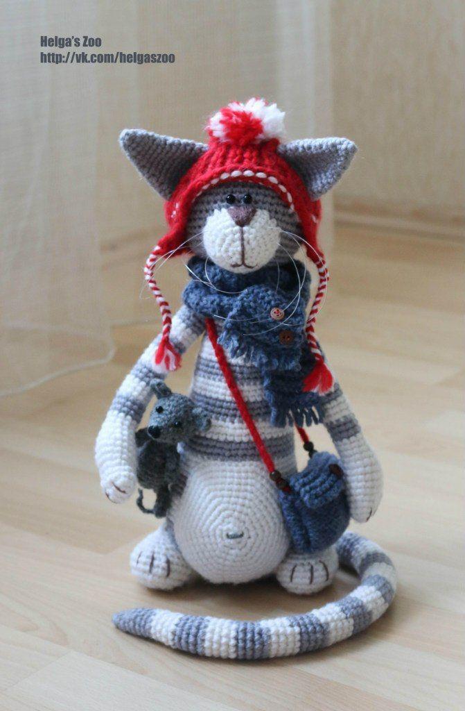 Katze Häkeln Mehr Omas Topflappen Pinterest Crochet Knitting