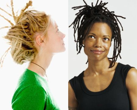 All Tied Up If Your Dreads Constantly Fall Into Your Face Try Tying Them Up There Are Various Funky Styles Y Dread Hairstyles Dreadlocks Hairstyles Haircuts