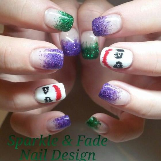 27 powerful nail designs for any comic nerd comic book nails 27 powerful nail designs for any comic nerd prinsesfo Image collections