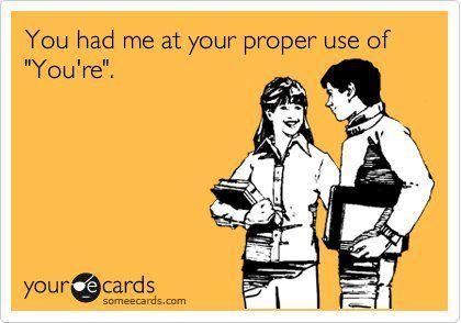 porque la buena ortografia es un afrodisiaco..