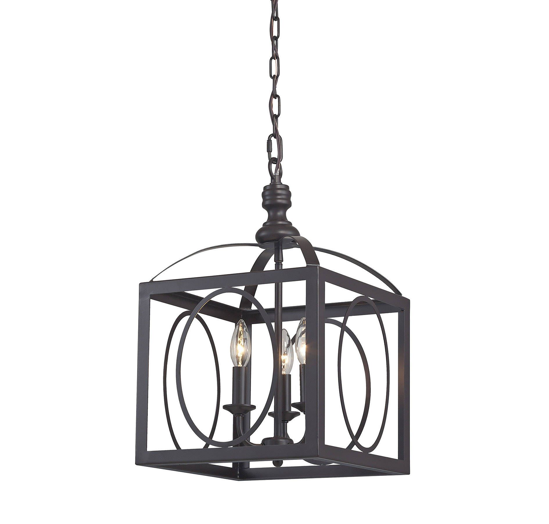 Sterling Industries 141 001 Ailsa Ringed 3 Light Cluster Lantern In Ceiling Lights Chandeliers Indoor Chandeliers Lee 3 Light Pendant Pendant Lighting Light