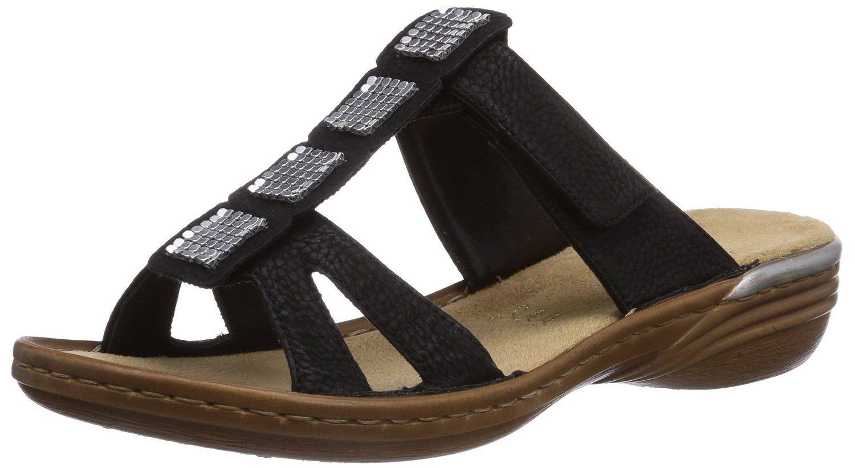 Rieker 60306 Damen Pantoletten: : Schuhe