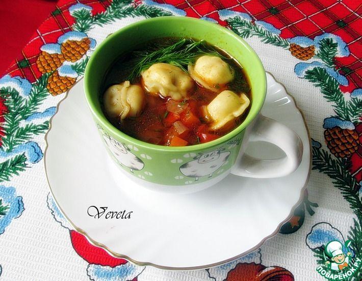 Суп с пельменями в узбекском стиле в 2020 г | Пельмени ...