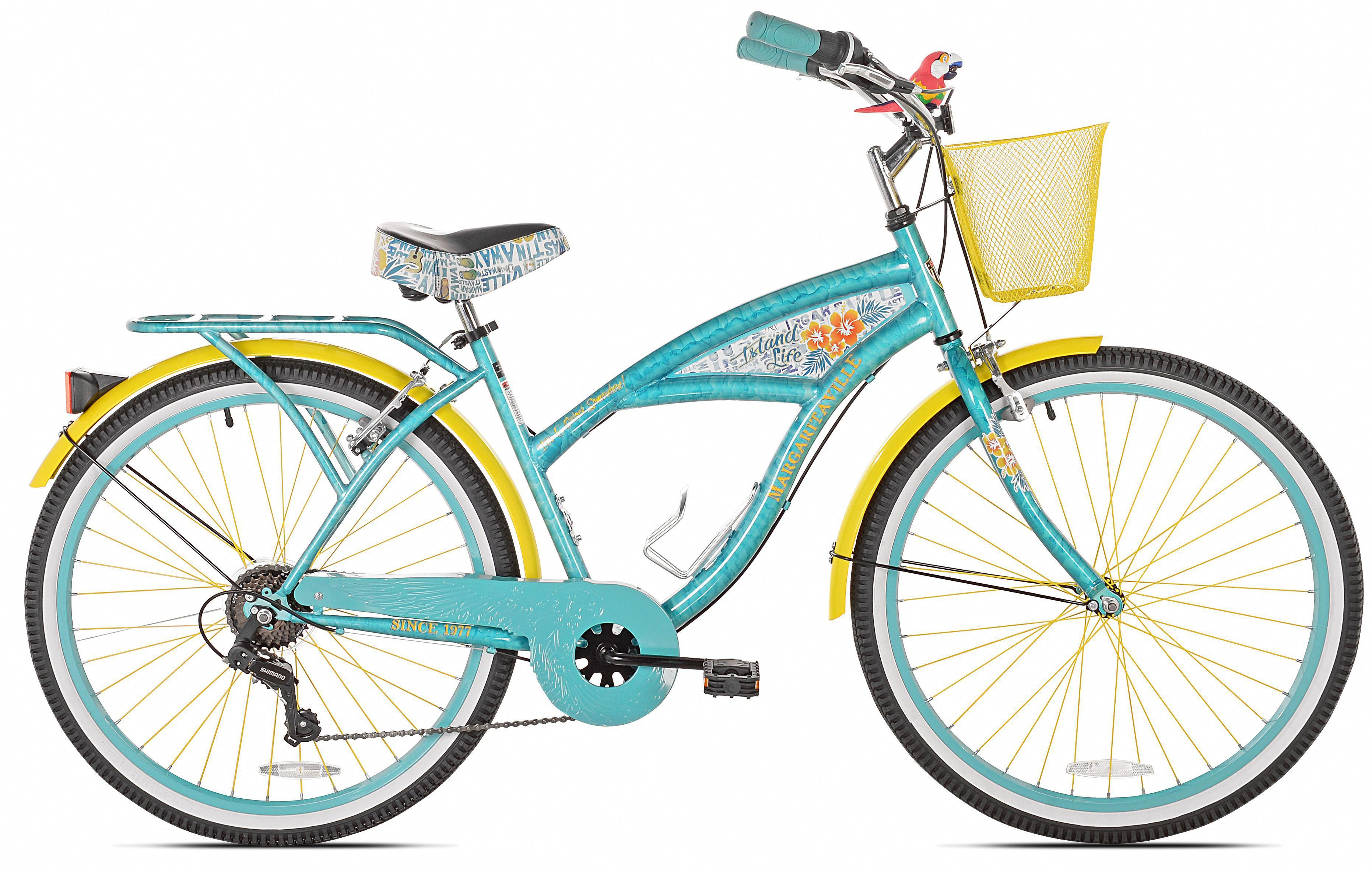 26 Women S Margaritaville Multi Speed Cruiser Bike Walmart Com 149 Coolbikeaccessories Roadbikeaccessories Bestr In 2020 Cruiser Bike Margaritaville Bike Bicycle