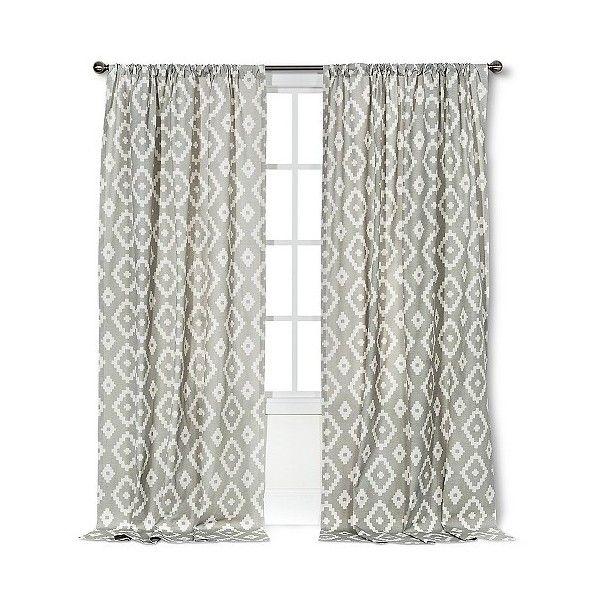 Threshold Farrah Southwest Curtain Panel