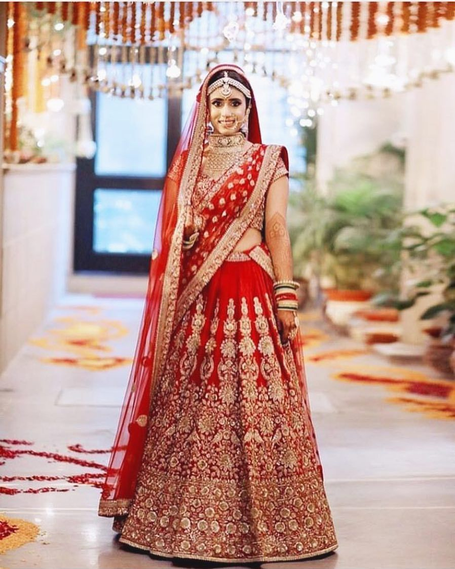 A sabyasachi lehenga is on every bride\'s wish list. #indianbride ...