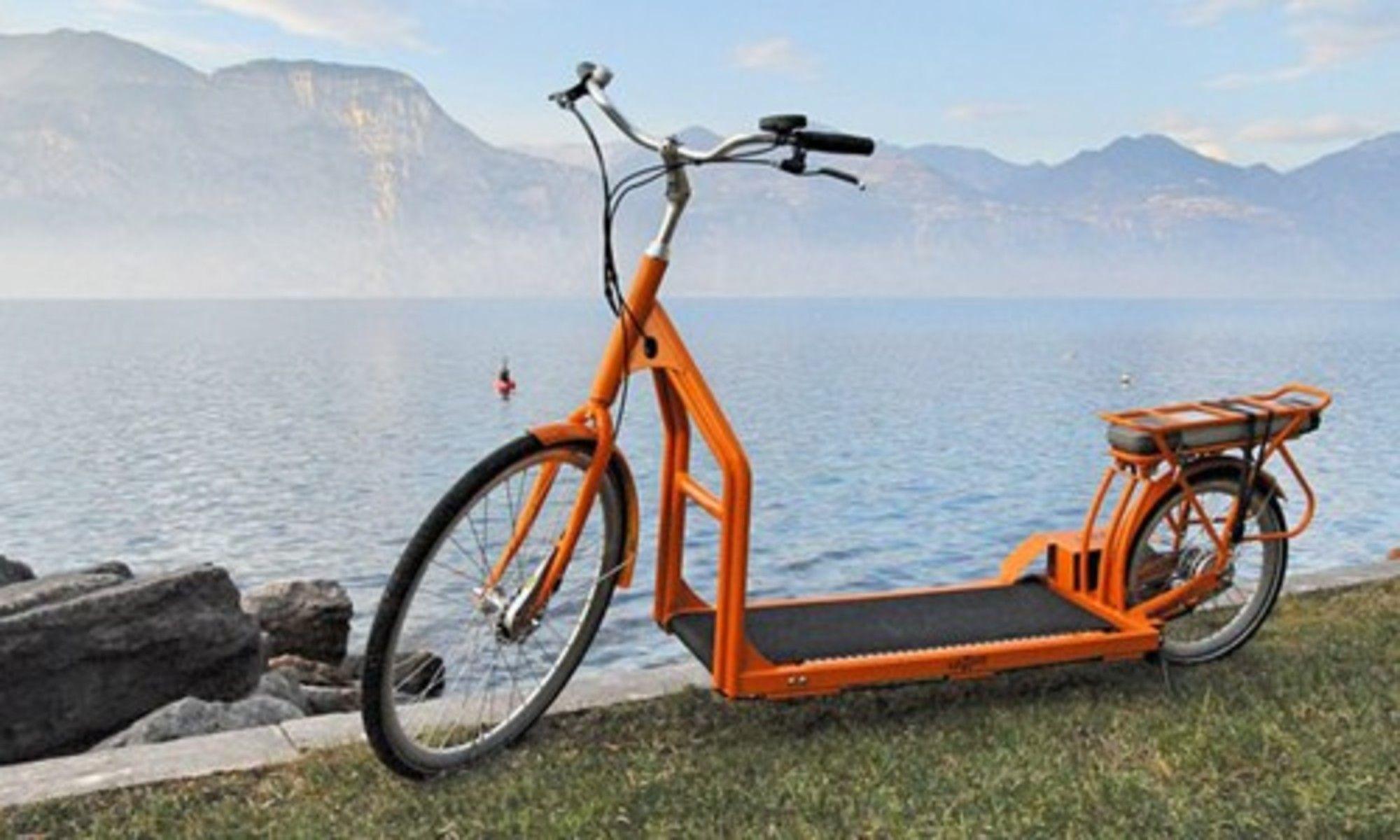 Meet The World S First Electric Walking Bike Bicycle Bike