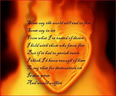 nothing gold can stay poem | Robert+frost+poems+fire+and+ice ...