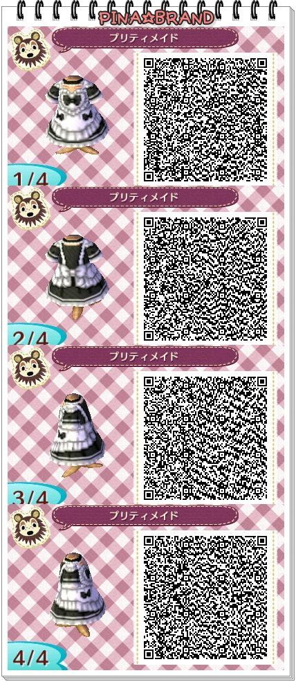 Gothic Animal Crossing Qr Codes Clothes Animal Crossing Animal