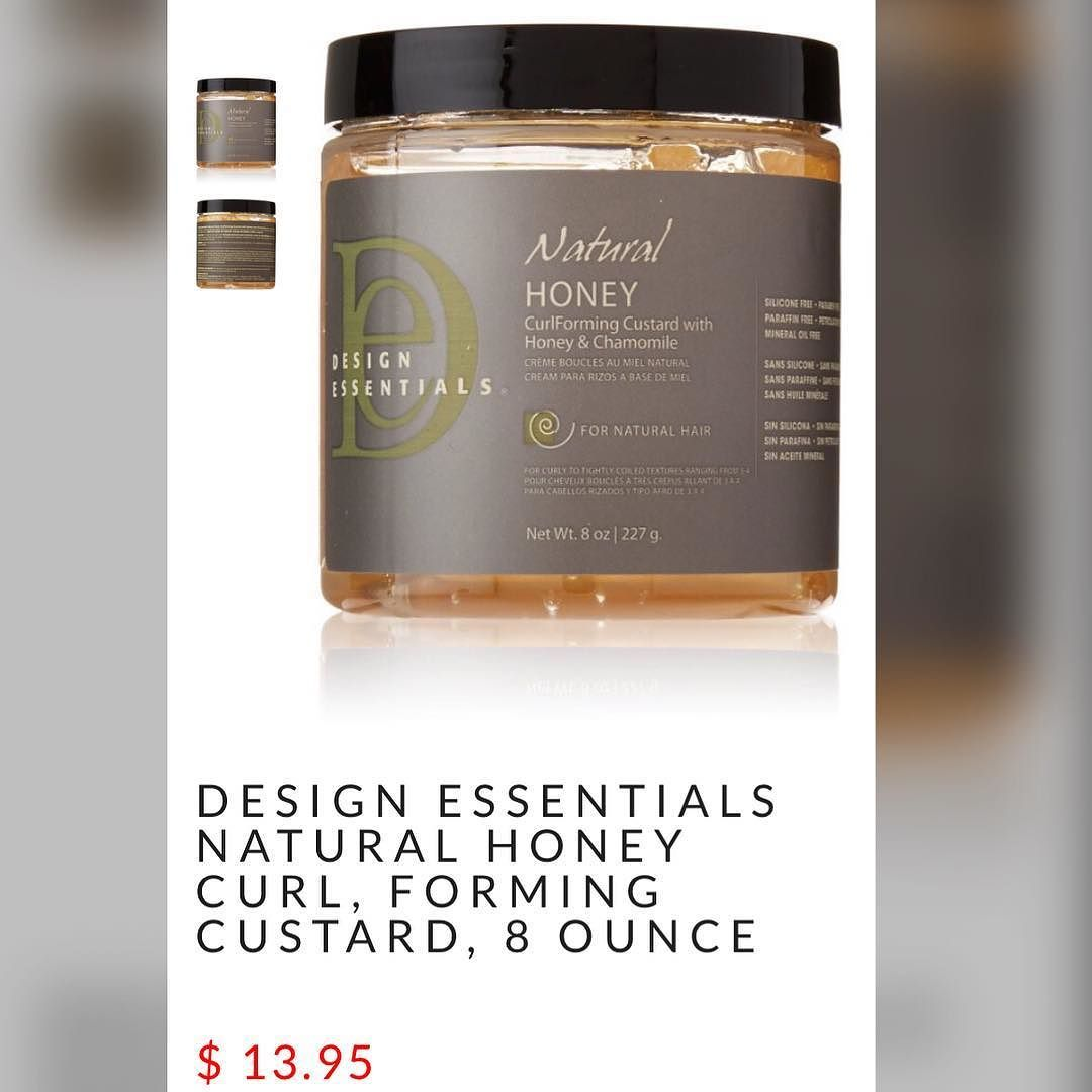 Designessentials Natural Honey Curl Foaming Custard Can Be