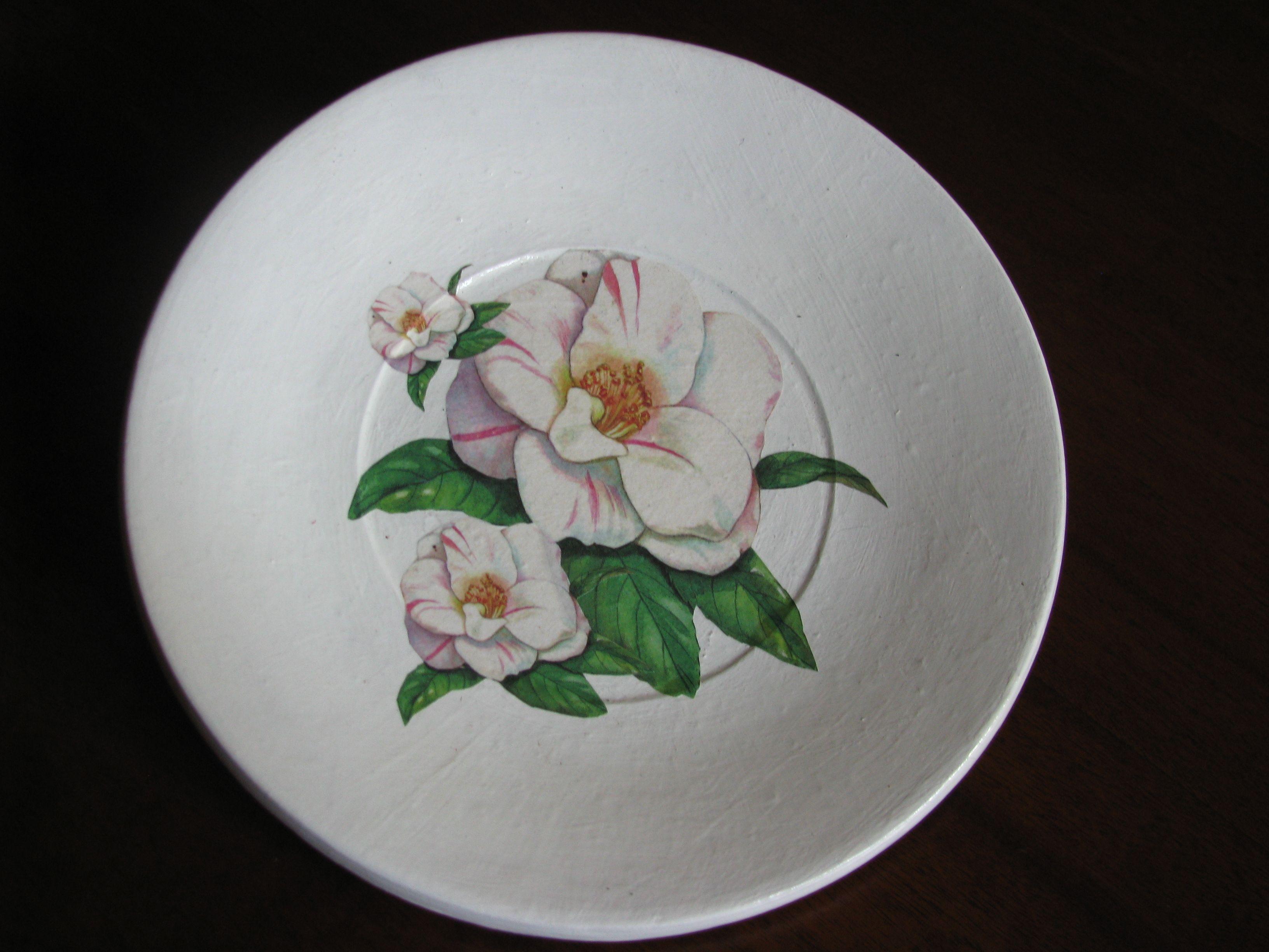 piatto don decoro magnolia