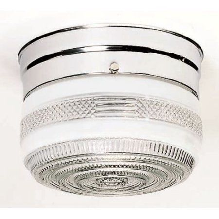 Nuvo Lighting 77/100 Ceiling Fixtures Indoor Lighting Flush Mount ;Polished Chrome, Silver