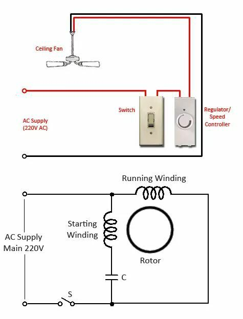 electrical fan circuit diagram listrik pinterest circuit rh pinterest com cooling fan circuit diagram cooling fan circuit diagram