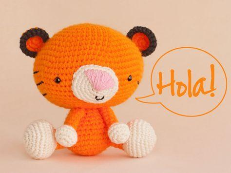 León Amigurumi Tutorial : Amigurumi tiger free crochet pattern tutorial amigurumi