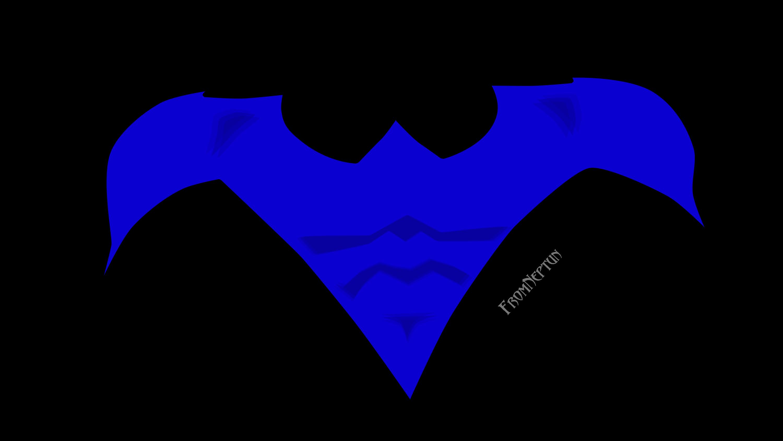 Nightwing Logo By Fromneptun Nightwing Fan Art Gotham