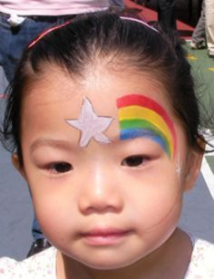 Simple Face Painting Designs For Cheeks Star Children Tips