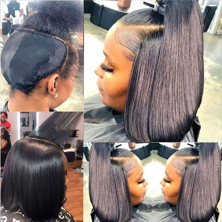 Buy Cheap Human Hair Straight Short Bob Lace Front Wigs From Uyasi Quick Weave Hairstyles Hot Hair Colors Weave Ponytail Hairstyles