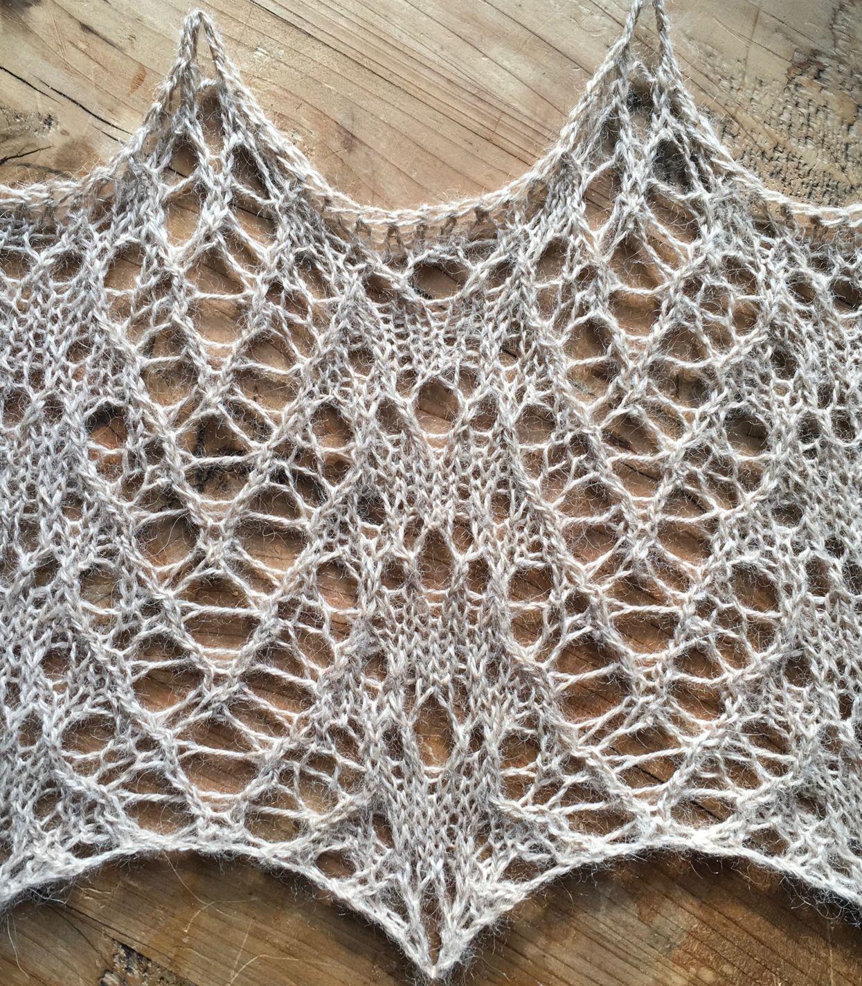 Hedgehog: a free lace knitting stitch pattern | Lace | Pinterest ...