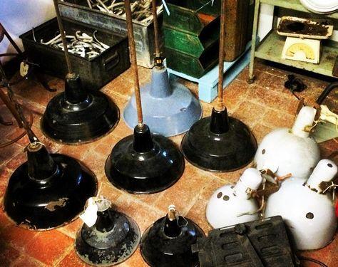 Webmobili Illuminazione ~ Lampade industriali vintage #lampada #lampadeindustriali