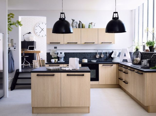 Ilot Cuisine Fly Idées Pour La Maison Pinterest Ilot Cuisine - Meubles de cuisine fly pour idees de deco de cuisine