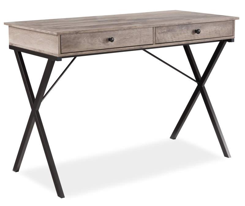 Stratford Rustic 2 Drawer Writing Desk Big Lots In 2020 Cheap Office Furniture Writing Desk Big Lots Furniture