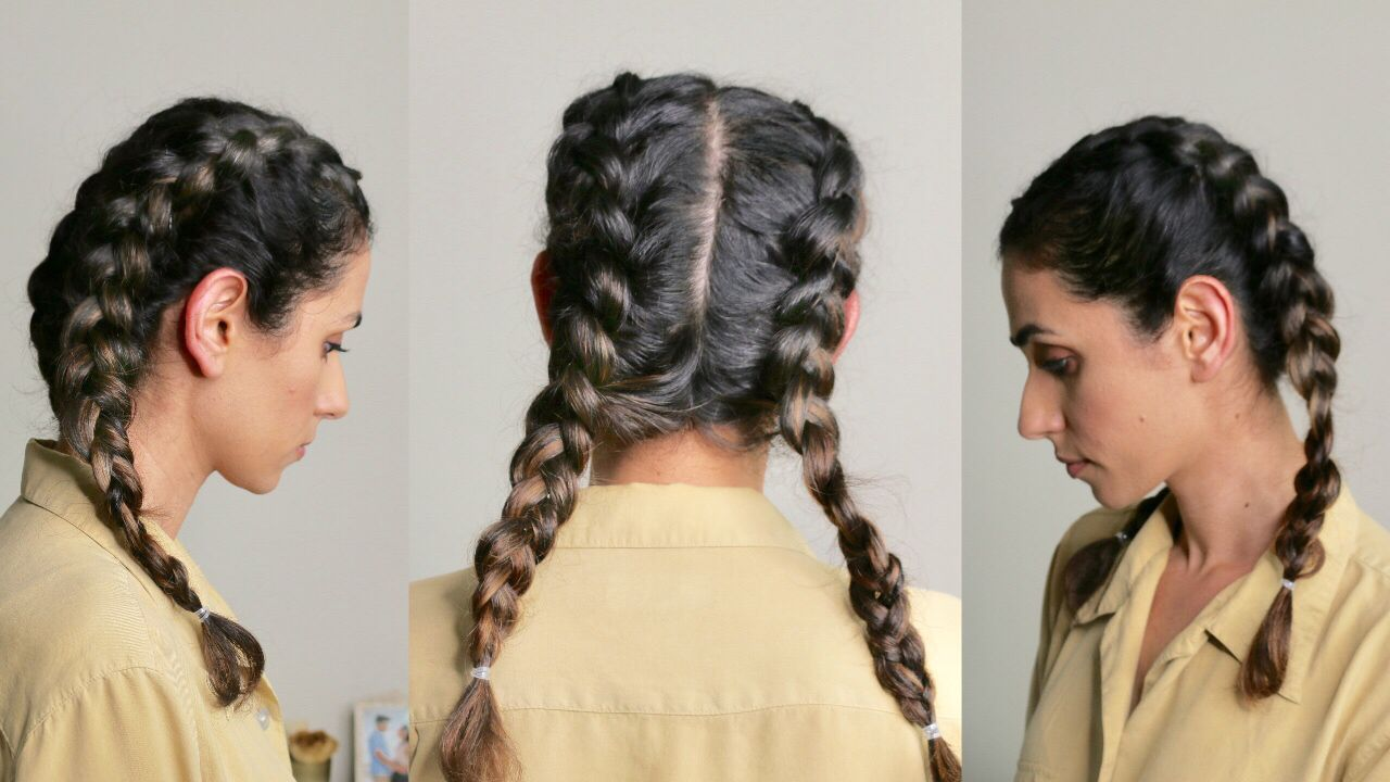 I Did A Dutch Braid On My Own Hair And You Can Do This Dutch