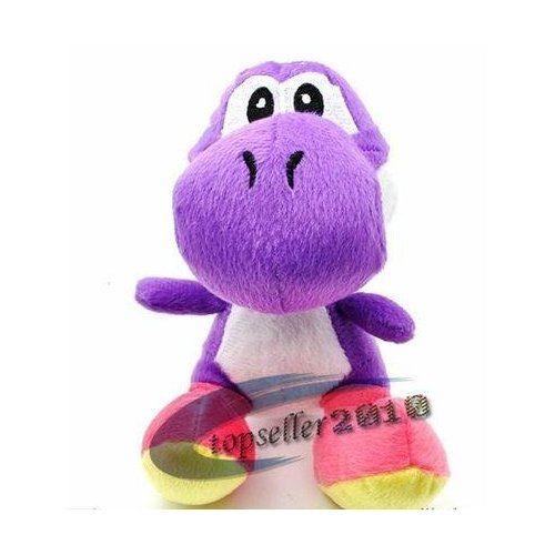 Purple Yoshi Purple Yoshi Plush Doll Approx 6 Tall