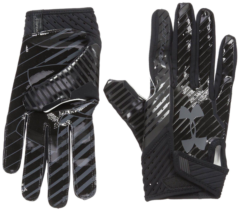 dbb04b35a5e7f Amazon.com : Under Armour Men's Spotlight Football Gloves : Sports ...