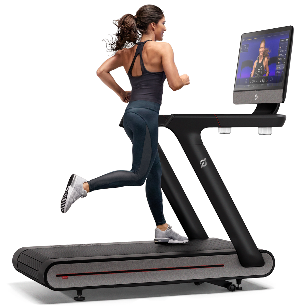 Peloton Indoor Exercise Bike with Online Streaming