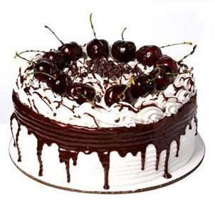 Oh, my favorite combination...chocolate & cherries.  Black forest cake