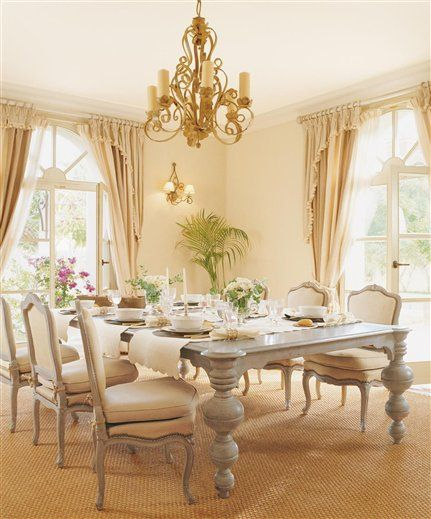 High Quality Country French Dining Room  Whoot Woo On The Table Legs Amazing Ideas