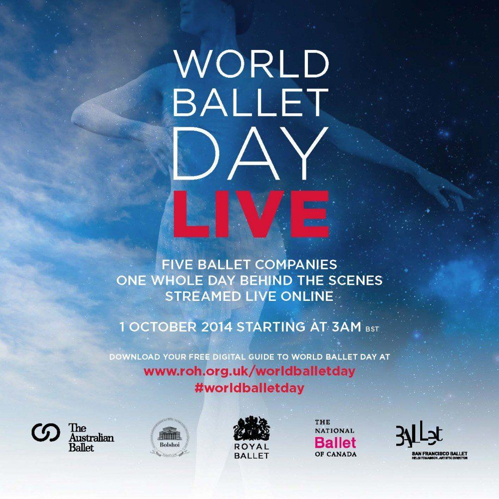 Global First: 5 top ballet companies in live streaming on 1 October