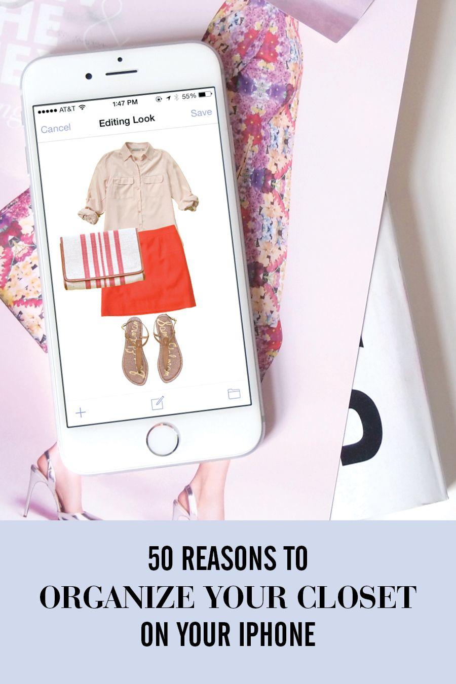 Stylebook Closet App Everyday Uses Closet App Stylebook Organization