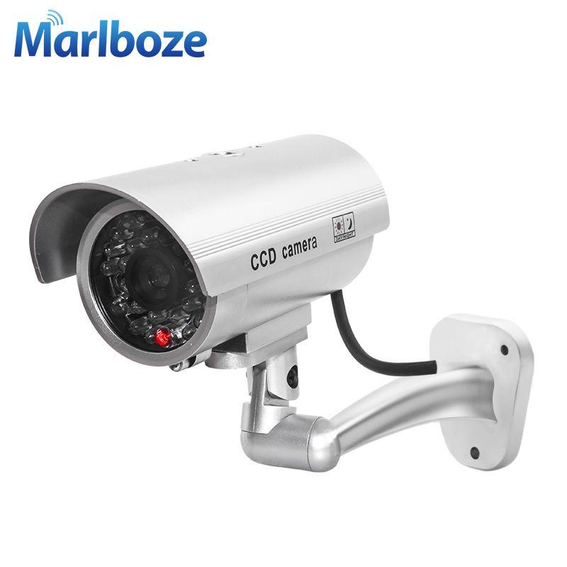 Outdoor Indoor Wasserdichte Gefälschte Kugel Kamera Led-Licht Gefälschte Sicherheit kamera Simulation Cctv-kamera videoüberwachung