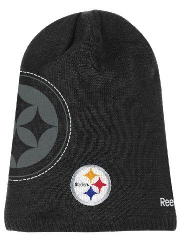 f6f12248839 Pittsburgh Steelers Reebok 2010 Player Sideline Cuffless Long Knit Hat by  Reebok.  13.49. Manufactured