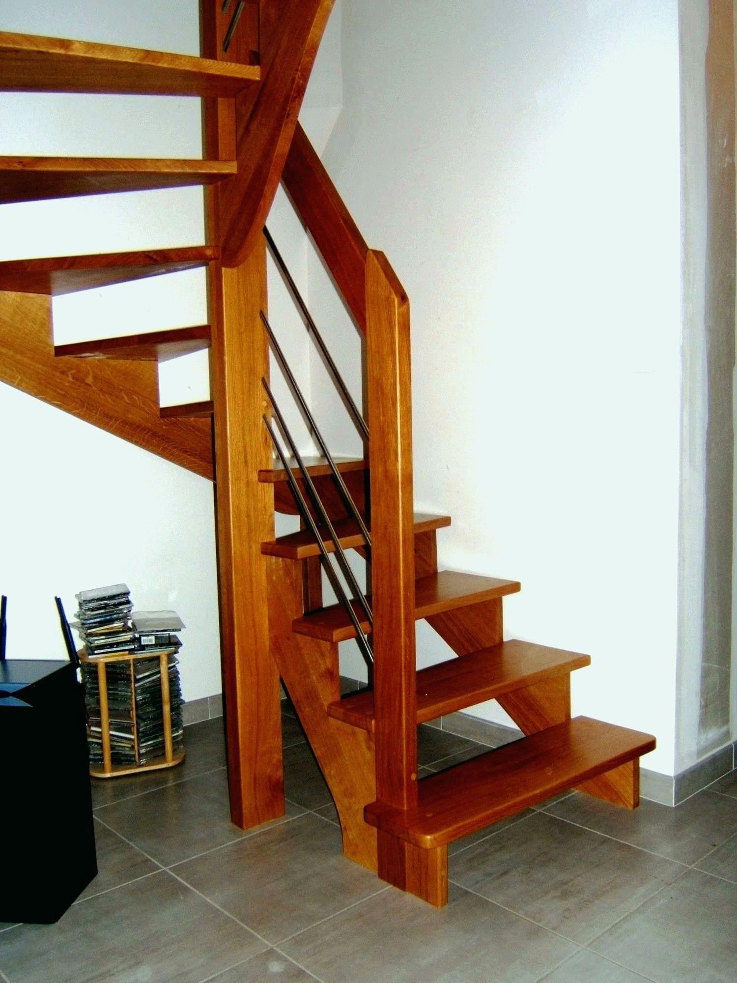 Beautiful Escalier Double Quart Tournant Leroy Merlin