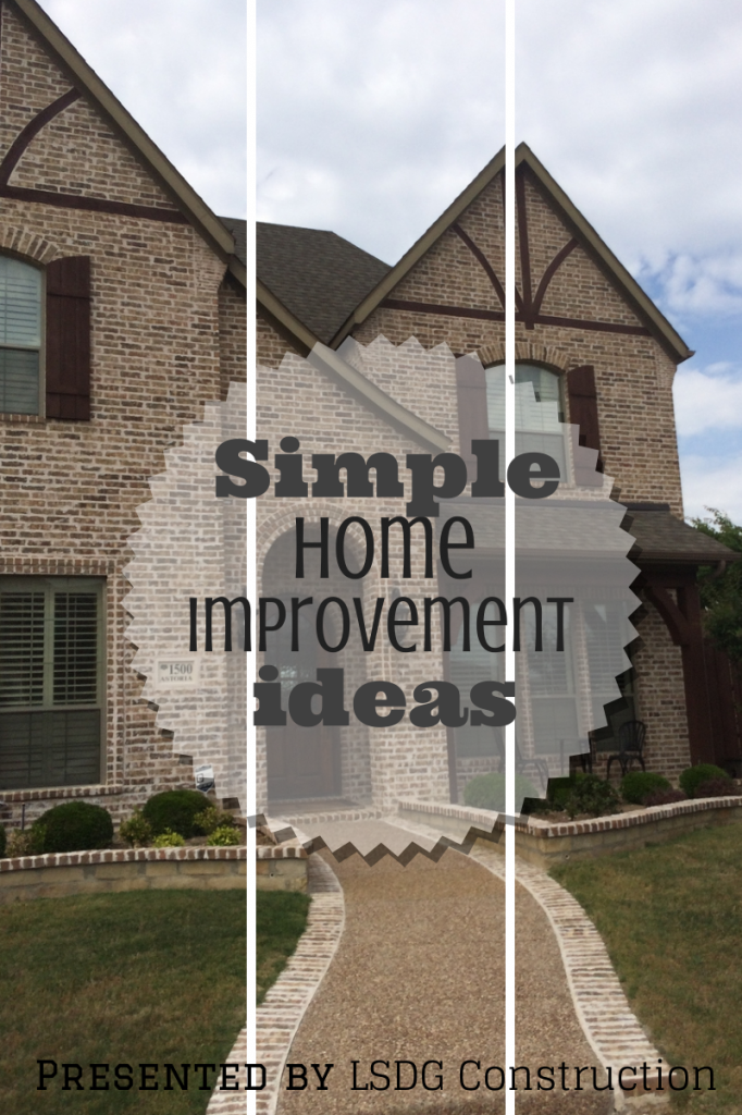 Simple Home Improvement Ideas Lsdg Roofing And Construction Simple House Home Addition Plans Home Improvement
