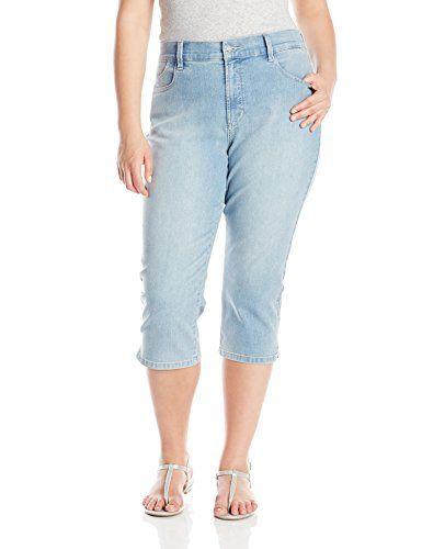 NYDJ Women's Plus-Size Bella Crop Jeans  http://www.effyourbeautystandarts.com/nydj-womens-plus-size-bella-crop-jeans/
