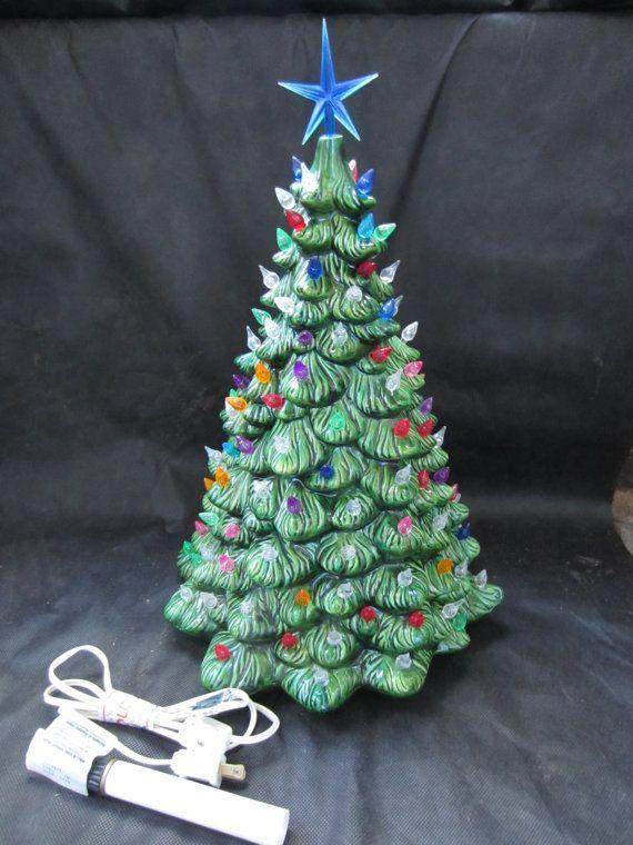 Holland Mold Co Christmas Tree Vintage Ceramic Christmas Tree Vintage Christmas Tree Ceramic Christmas Trees