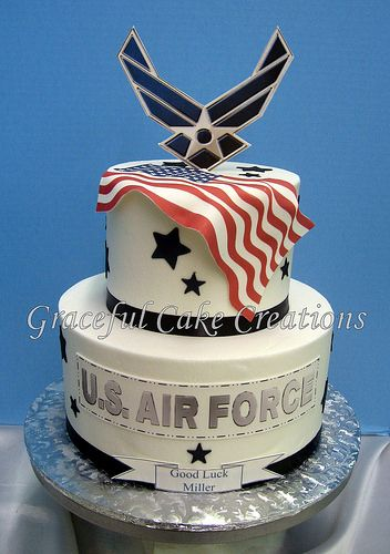 U S Air Force Cake With Images Air Force Birthday Military