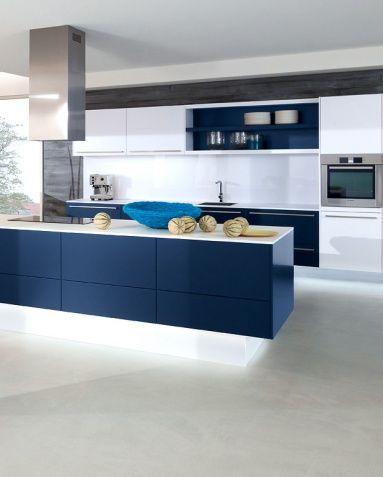 Farbe in der Küche Maritime Farben Küche  - farbe für küche
