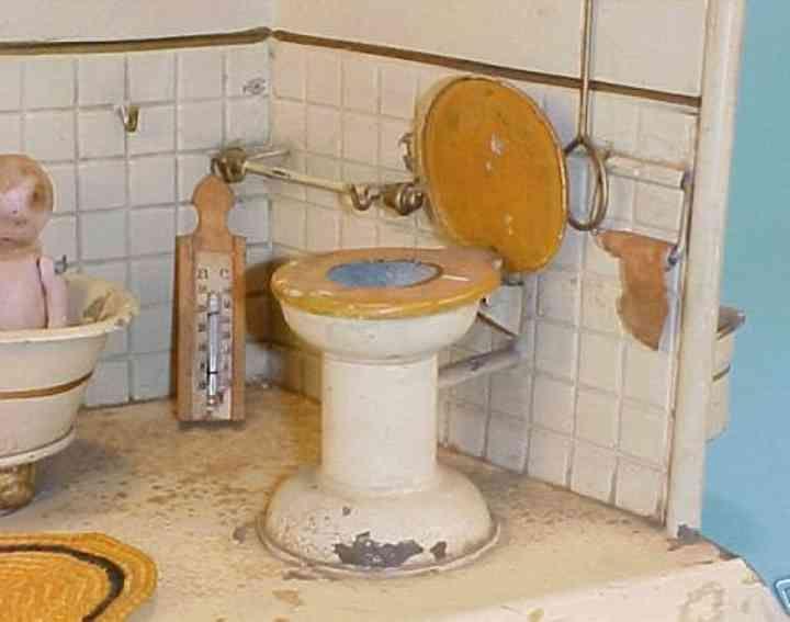 Unbekannt Puppenhäuser Badezimmer mit Badewanne mit Dusche, Beck - badezimmer badewanne dusche
