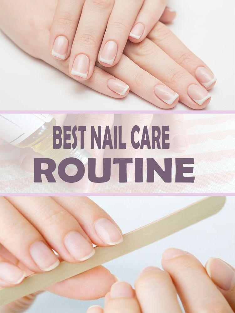 BEST NAIL CARE ROUTINE Nail care, Nail care routine, Fun