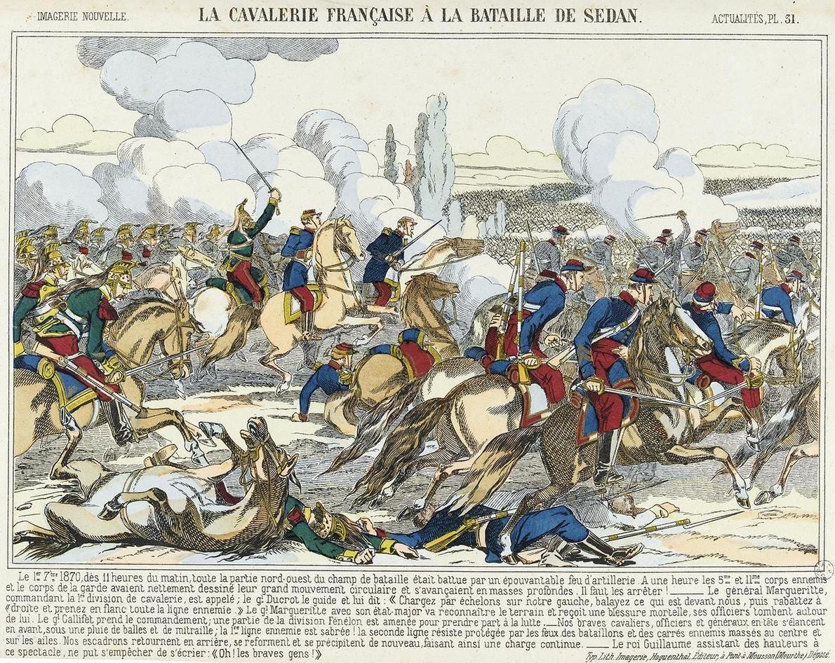 L Emblematique Naufrage De La Cavalerie Francaise A Sedan Artpol Francia